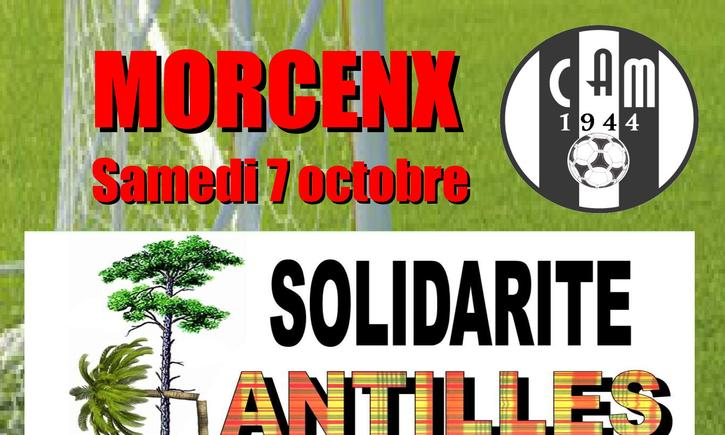 CAM Football: solidarité Antilles